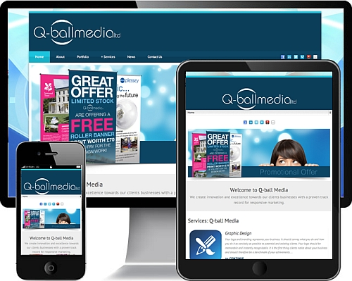 Responsive Website Design in Devon